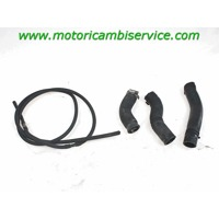COOLANT HOSE OEM N. 17127679345 17127679346 SPARE PART USED MOTO BMW K72 F 800 GS (2006 - 2017) DISPLACEMENT CC. 800  YEAR OF CONSTRUCTION 2009