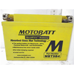 BATTERIA PER MOTO MOTOBATT MBT9B4 BATTERY POLI INTERCAMBIABILI